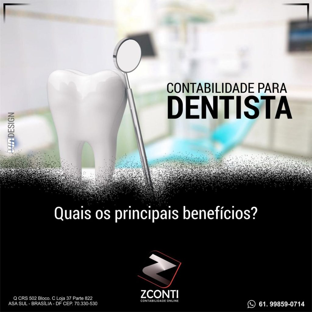 Contabilidade para dentistas e clínica