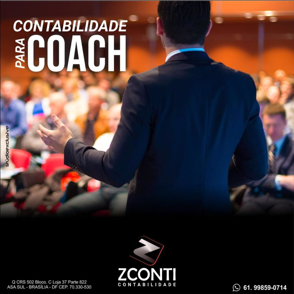 contabilidade para Coach