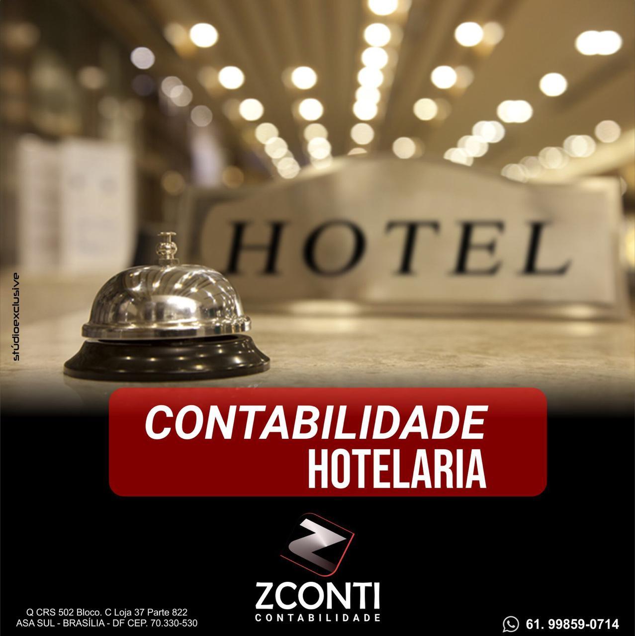 contabilidade para Hotéis, pousadas e resort